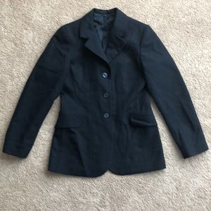 Ovation riding jacket show coat navy 8R